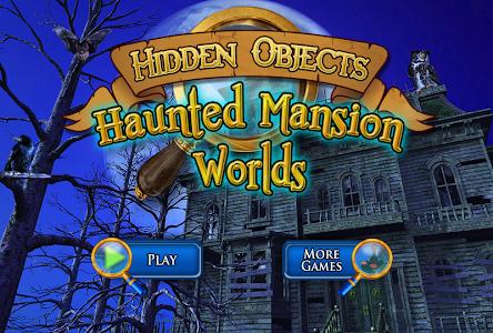 Hidden Objects Haunted Worlds screenshot 5