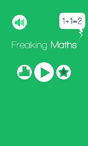 Freaking Maths - Math Game screenshot 0