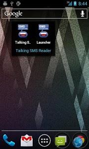 Talking SMS Reader screenshot 0