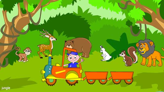 Kids Animal Game-Zoo TrainFULL screenshot 2