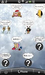 Daily Cartoon013 LWP & Clock screenshot 6