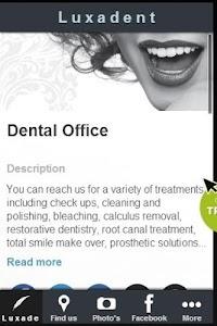 Luxadent Dental Office screenshot 6