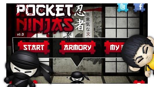 Pocket Ninjas screenshot 0