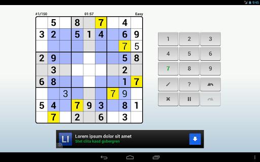 Andoku Sudoku 2 Free screenshot 09