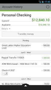 Cy-Fair FCU Mobile Banking screenshot 1
