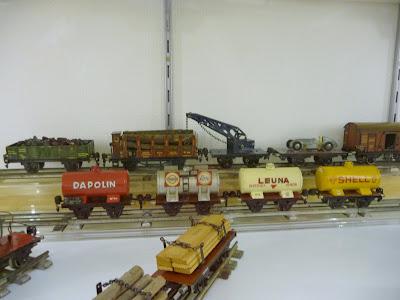 Oude Märklin wagonnetjes
