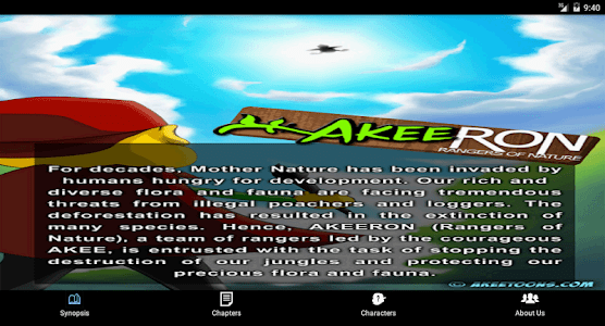 AkeeRON Comic screenshot 7