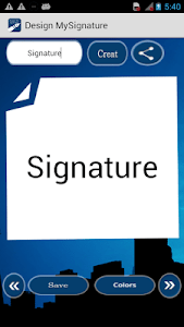 Design My Signature-Sign Maker screenshot 1
