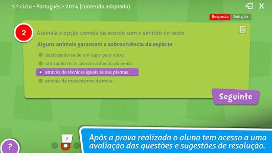 Provas Finais Português screenshot 8