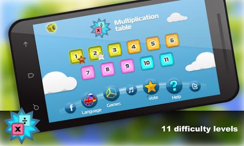Math.Multiplication table Free screenshot 12