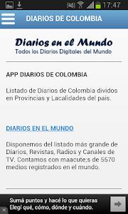 Diarios de Colombia screenshot 4
