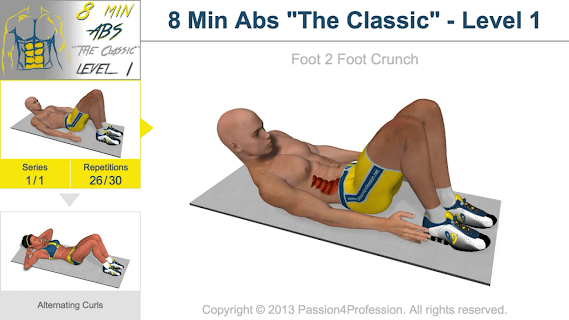 8 Minutes Abs Workout screenshot 03
