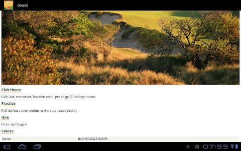 Golf Course Guide Aust Edition screenshot 9