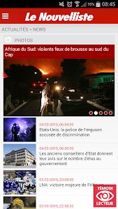 Le Nouvelliste en continu screenshot 2