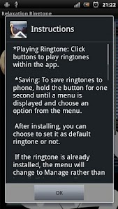 Relaxation Ringtone screenshot 0