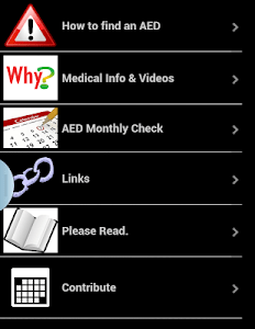 Defibrillator Map screenshot 5