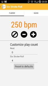 RowDrum - Drum Rudiments screenshot 3