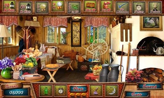 Cabin in Woods - Hidden Object screenshot 04