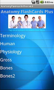 Anatomy Flashcards Plus screenshot 0