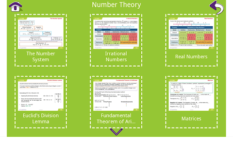 Grade 10 Math Learning Cards screenshot 11