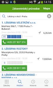 Zdravotnický průvodce screenshot 1