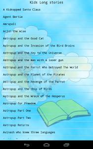 Kids Long Stories screenshot 1