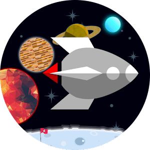 FLAT-galaxy- space travel game