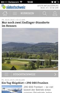 Südostschweiz (Phone) screenshot 0