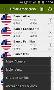 Cotizaciones screenshot 2