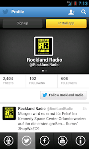 ROCKLAND RADIO screenshot 1