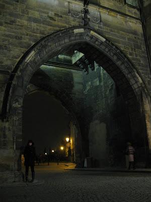 entrance to charles bridge