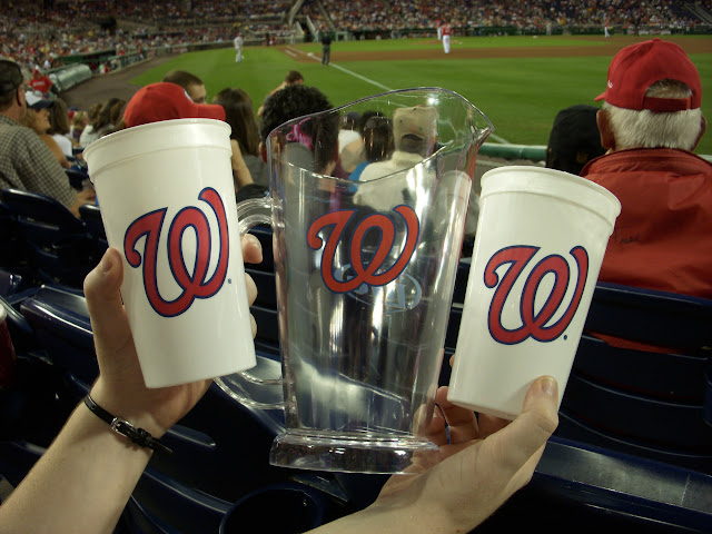 Beer Pitcher and Cup set