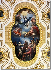 Witley Court church ceiling