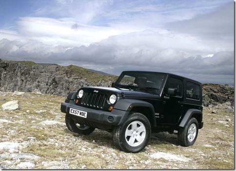 Jeep Wrangler UK Version