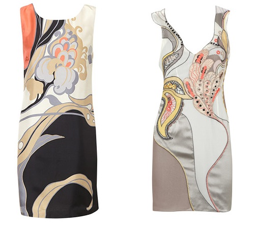 Cash or Credit - 90's Minimal Print Dress by Karen Millen and Oasis