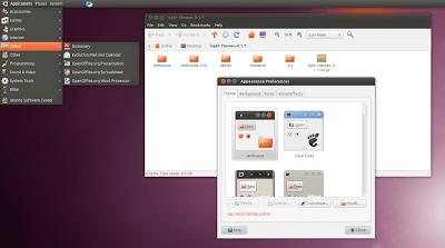 Ambiance Ubuntu 10.10 Maverick Meerkat