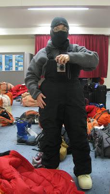 Antarctic ninja.