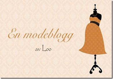en modeblogg av Loo