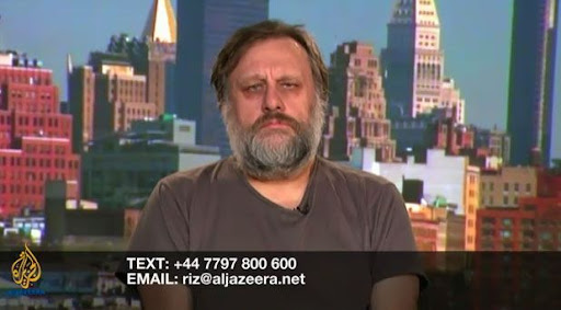Slavoj looks homeless