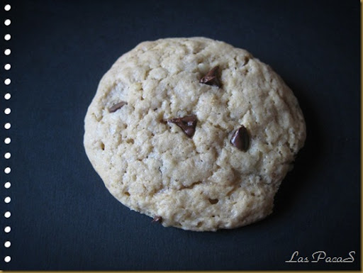 Cookies con chispitas de chocolate