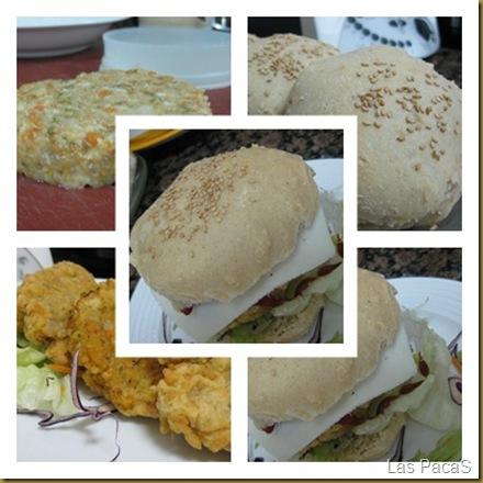 collage hamburguesa