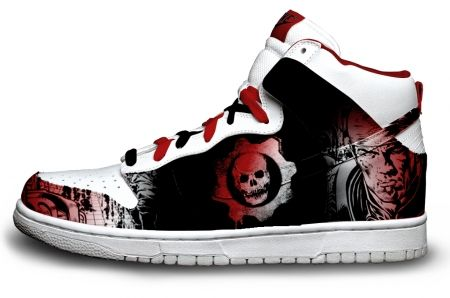 Gambar : Nike-shoes-design-skull