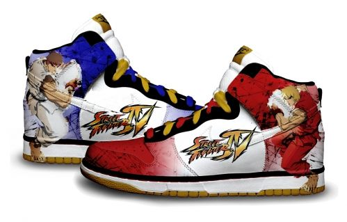 Gambar : Nike-shoes-design-street-fighter
