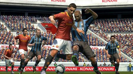Konami Game Pro Evolution Soccer 2011 (PES 2011) Video & Screenshoot