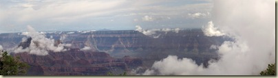 05 Clouds on temples & SR from BAP trail NR GRCA NP AZ pano (1024x283)