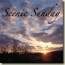 Scenic Sunday sky badge