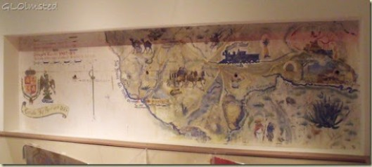 Map of the Big Bend 1883 Museum of the Big Bend Alpine Texas