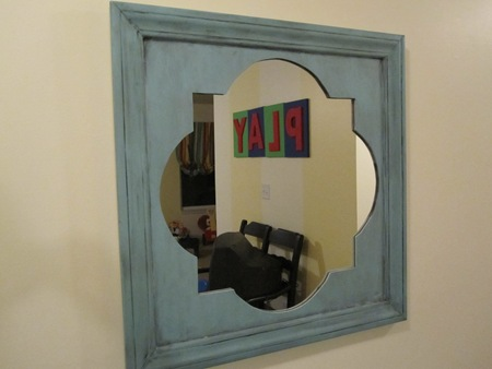 how to make a quatrefoil mirror