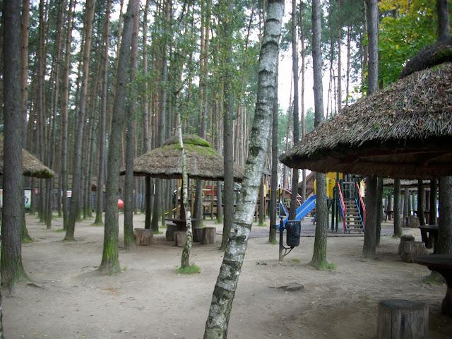 Plac zabaw w człuchowskim zoo