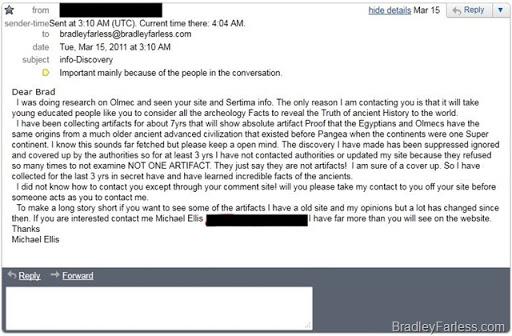 Weird email.